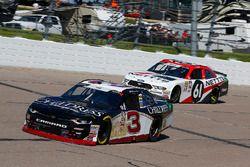 Shane Lee, Richard Childress Racing, Chevrolet Camaro and Kaz Grala, Fury Race Cars LLC, Ford Mustang NETTTS