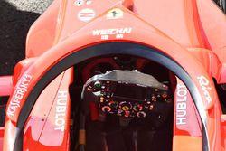 Le volant de la Ferrari SF71H