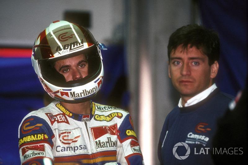 Alex Criville, Honda con Sito Pons