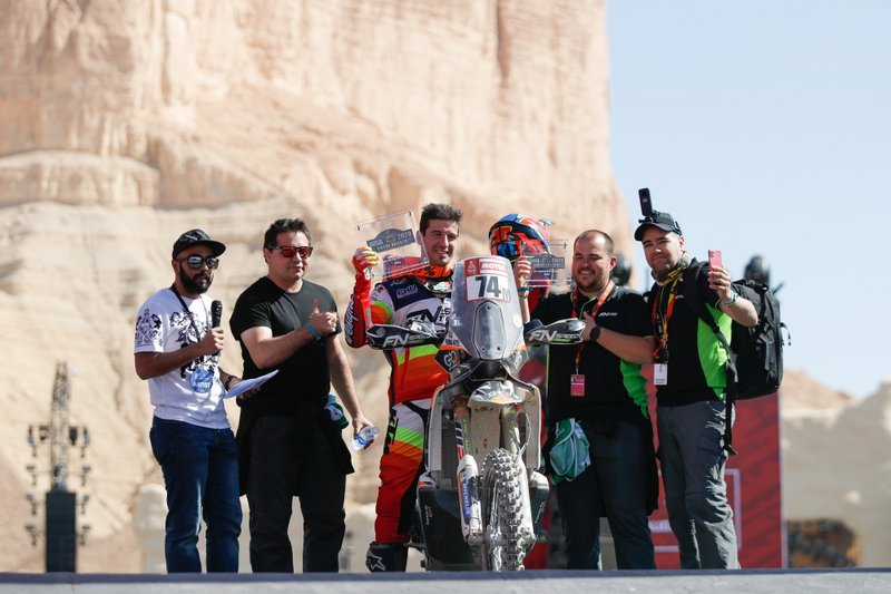 3º del Grupo 2 (pilotos no Élite): Jaume Betriu, 8.000€ + 1 trofeo