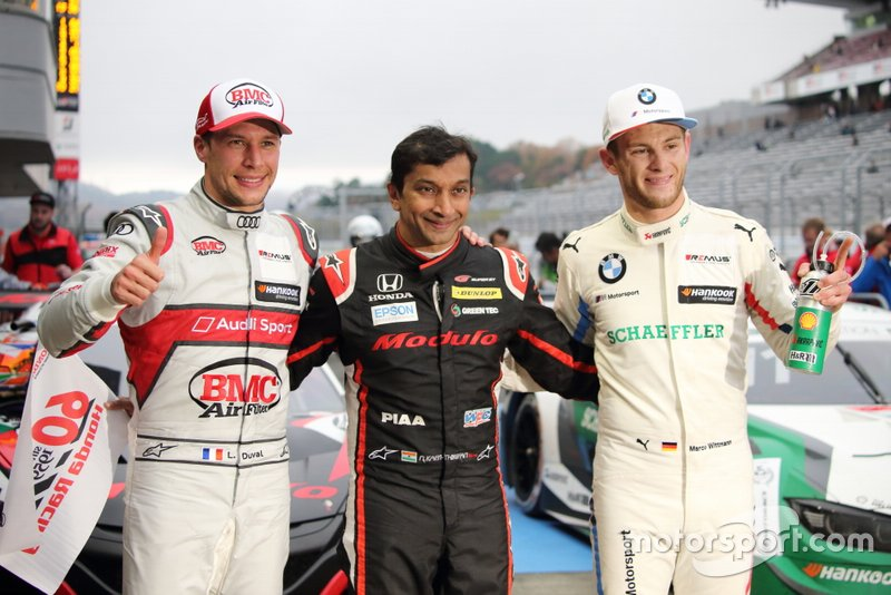Loic Duval, Narain Karthikeyan, Marco Wittmann