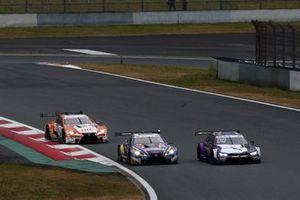 Kamui Kobayashi, BMW Team RBM BMW M4 DTM, Yuji Kunimoto, Lexus Team Bandoh Lexus LC500, Kazuki Nakajima, Lexus Team TOM'S Lexus LC500