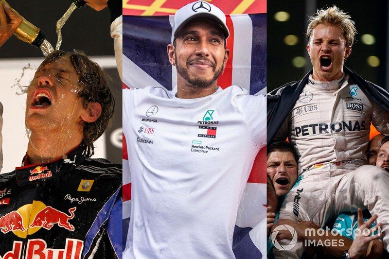 Sebastian Vettel, Red Bull Racing, Lewis Hamilton, Mercedes AMG F1 y Nico rosberg, Mercedes AMG F1