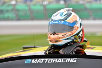 Helm: Matt DiBenedetto, Leavine Family Racing