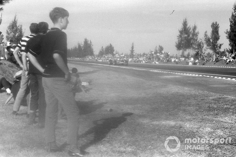 Fan al GP del Messico del 1968