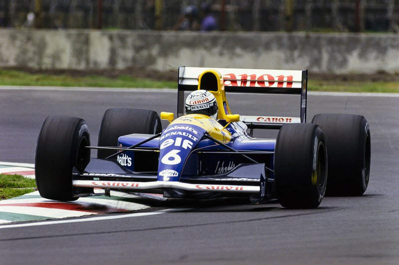 Riccardo Patrese, Williams FW14 Renault