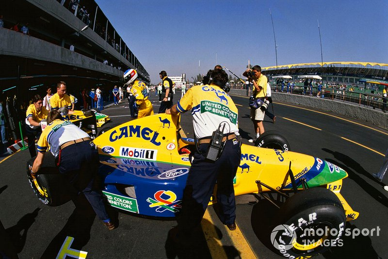 Michael Schumacher, Benetton B191B-Ford