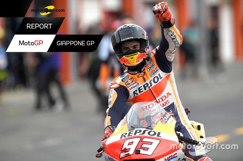 Copertina Report GP del Giappone