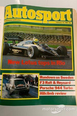 Autosport cover 1985