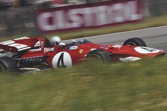 Mario Andretti, Ferrari 312B, al GP d'Olanda del 1971