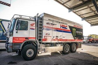 Equipaggiamento del Team Monster Energy Honda