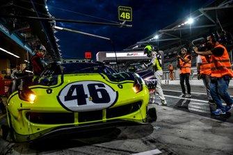 سيارة فيراري #46: فالنتينو روسي، لوكا ماريني وأليسيو سالوتشي