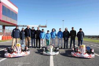 Tutti i protagonisti del primo Stage Valutativo ACI Sport per il Karting della Scuola Federale