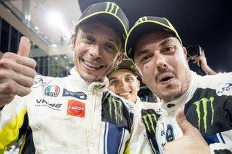 Valentino Rossi y Alessio Salucci