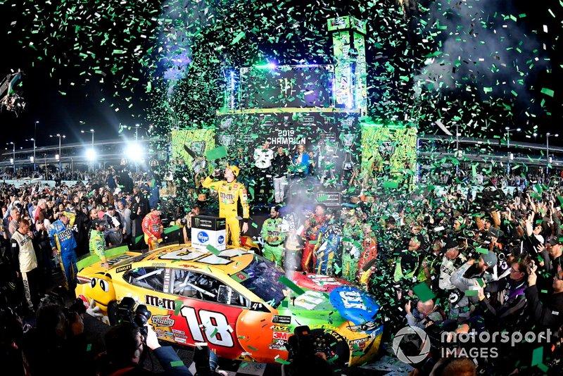 NASCAR Cup-Champion 2019: Kyle Busch, Joe Gibbs Racing, Toyota Camry M&M's