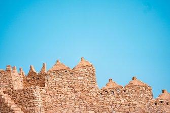 Skyline in Arabia Saudita