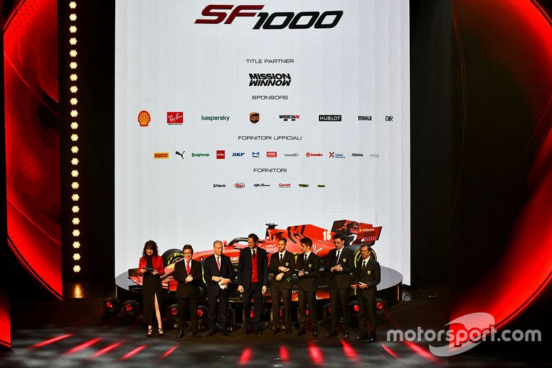 Presentación Ferrari SF1000 de 2020