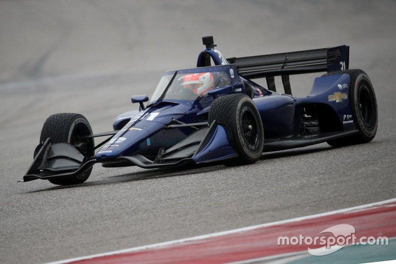 #31: Felipe Nasr, Carlin, Chevrolet *