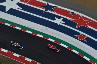 Alex Palou, Dale Coyne Racing with Team Goh Honda, Alexander Rossi, Andretti Autosport Honda