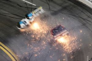 Choque de Ty Majeski, Niece Motorsports, Chevrolet Silverado Plan B Sales