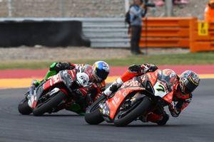 Chaz Davies, Aruba.it Racing-Ducati Team, Toprak Razgatlioglu, Turkish Puccetti Racing