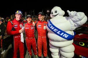 #62 Risi Competizione Ferrari 488 GTE, GTLM: James Calado, Alessandro Pier Guidi, Daniel Serra, Michelin