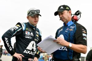 William Byron, Hendrick Motorsports, Chevrolet Camaro Axalta and Chad Knaus