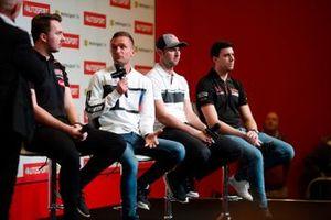 BTCC drivers Tom Ingram, Colin Turkington, Andrew Jordan and Dan Cammish are interviewd on the Autosport stage