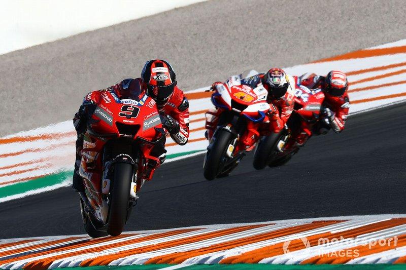 Danilo Petrucci, Ducati Team, Jack Miller, Pramac Racing, Andrea Dovizioso, Ducati Team