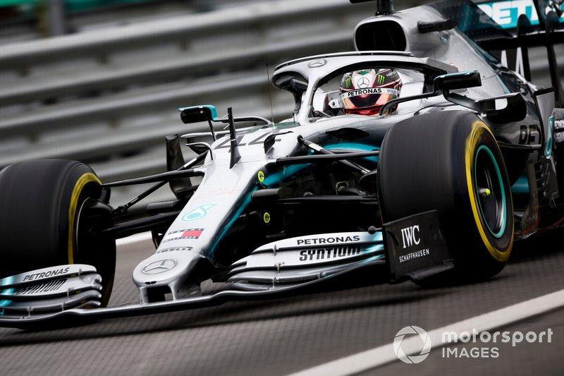 7º - Lewis Hamilton, Mercedes AMG F1 W10