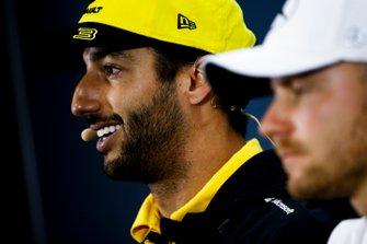 Daniel Ricciardo, Renault F1 Team, en conférence de presse