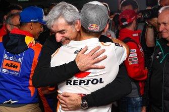 Jorge Lorenzo con Luigi Dall'Igna, Ducati Corse General Manager