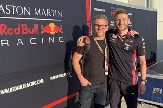 Joe Sturdy, system engineer Honda, Red Bull Racing