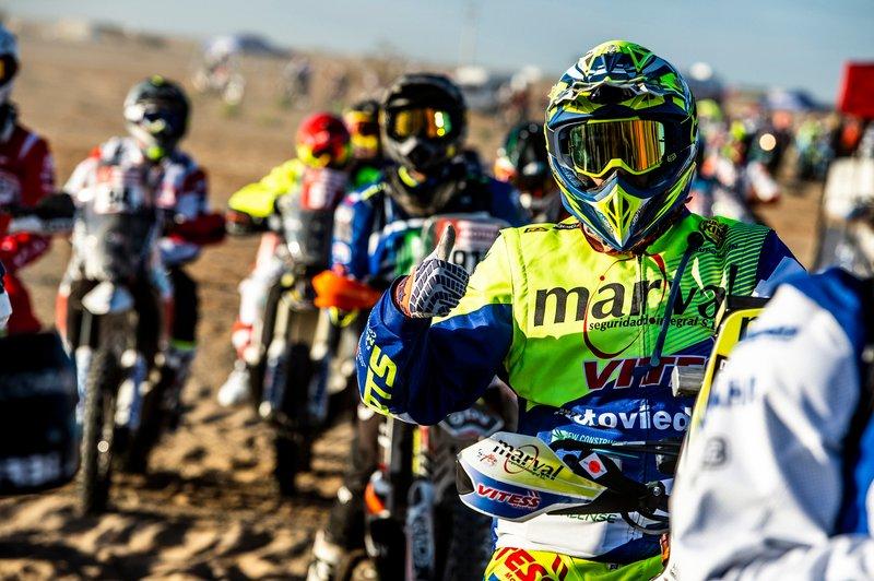 Inicio de Rally Dakar