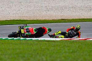 Chute d'Andrea Iannone, Aprilia Racing Team Gresini