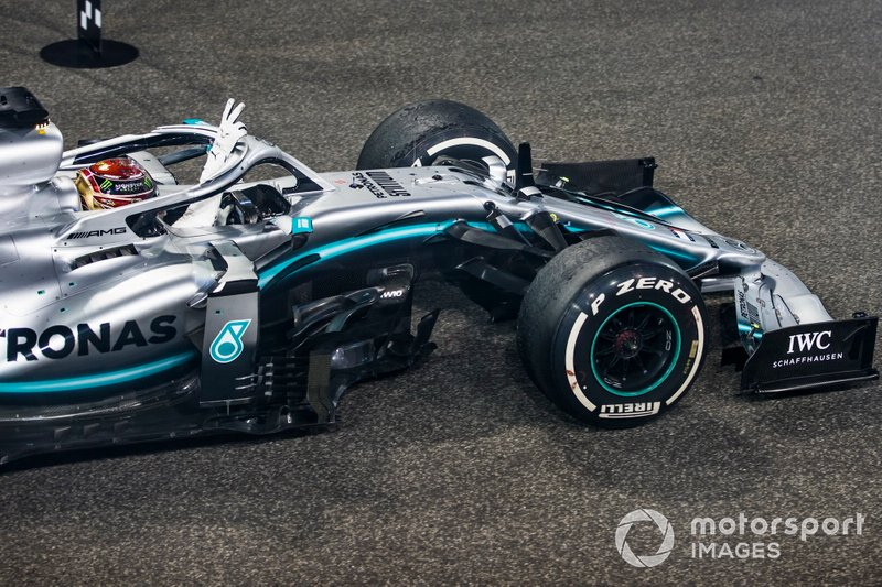 Lewis Hamilton: 7 temporadas con Mercedes (desde 2013 hasta 2019)