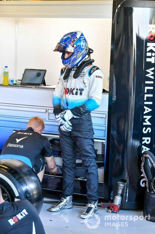 Roy Nissany, Williams