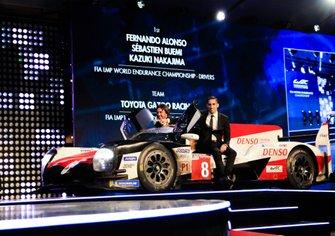 Sebastien Buemi and Fernando Alonso