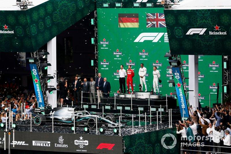 Себастьян Феттель, Гран При Мексики 2019 года. Последний подиум