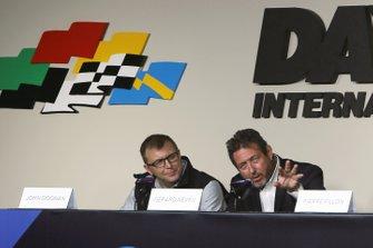 Пьер Фийон, президент автоклуба ACO, и Жерар Неве, генеральный директор FIA WEC