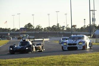 #55 Mazda Team Joest Mazda DPi, DPi: Jonathan Bomarito, Harry Tincknell, Ryan Hunter-Reay, #96 Turner Motorsport BMW M6 GT3, GTD: Robby Foley III, Jens Klingmann, Bill Auberlen, Dillon Machavern