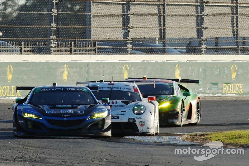 #57 Heinricher Racing w/Meyer Shank Racing Acura NSX GT3: Alvaro Parente, Misha Goikhberg, Trent Hindman, A.J. Allmendinger