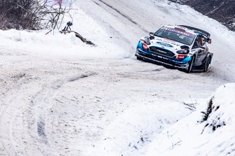 Gus Greensmith, Elliot Edmondson, M-Sport Ford WRT Ford Fiesta WRC