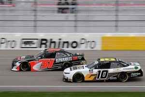 Jeremy Clements, Jeremy Clements Racing, Chevrolet Camaro Repairables.com, Ross Chastain, Kaulig Racing, Chevrolet Camaro Chevy Accessories