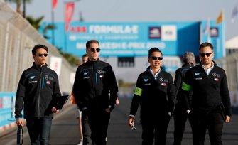 Nyck De Vries, Mercedes Benz EQ, Stoffel Vandoorne, Mercedes Benz EQ sul tracciato