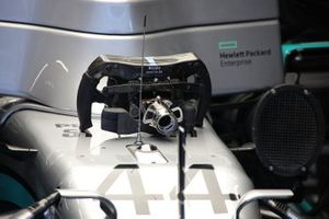 Mercedes AMG F1 W11 steering wheel