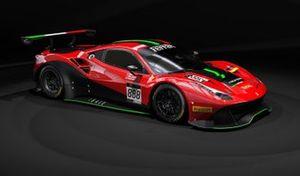 Rinat Salikhov, David Perel, Patrick Kujala, Rinaldi Racing, Ferrari 488 GT3