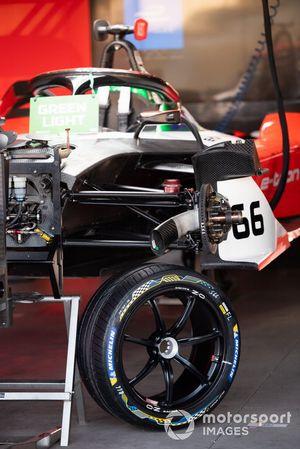 Garage van Daniel Abt, Audi Sport ABT Schaeffler, Audi e-tron FE06