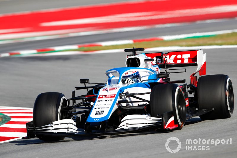 2020: Williams FW43 en pretemporada