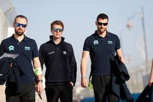 Oliver Turvey, NIO 333 on his track walk